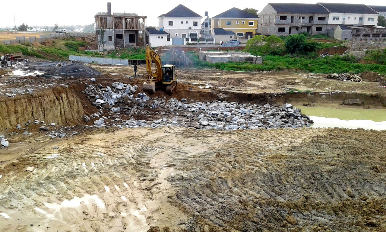 Earth Stabilization Via Soil Replacement At Mbora, Abuja